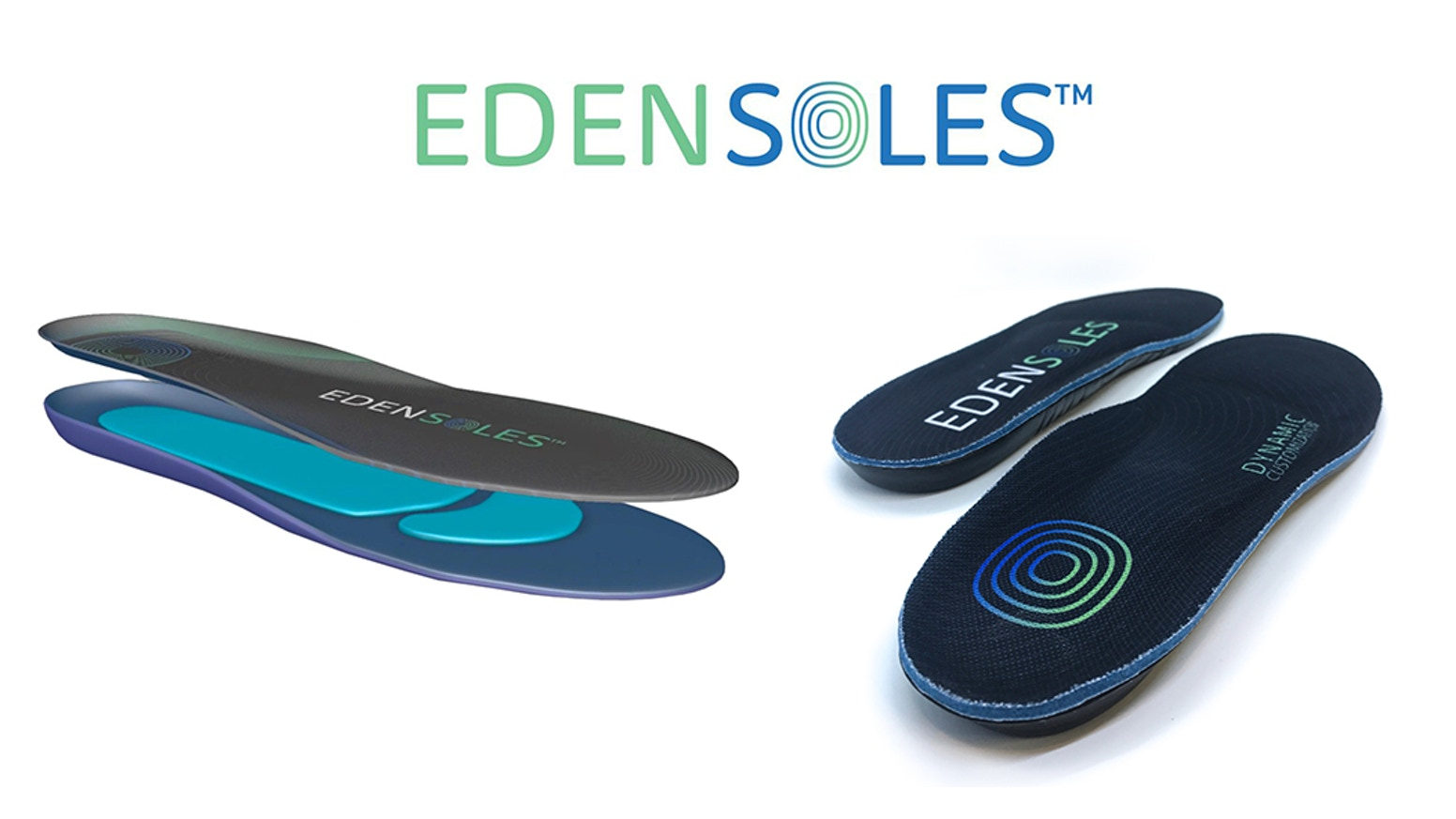 Introducing a breakthrough in insole technology! Edensoles, Dynamic Customization Technology constantly shapes to your feet.