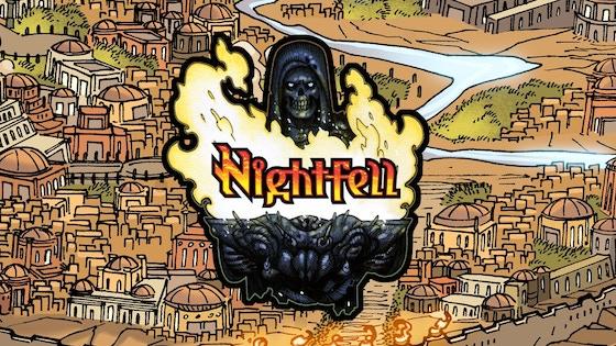 Nightfell Graphic Novel Volume One