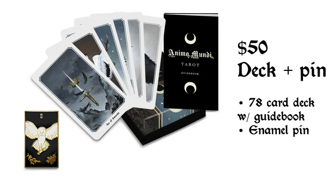 The Anima Mundi tarot deck by Megan Wyreweden — Kickstarter