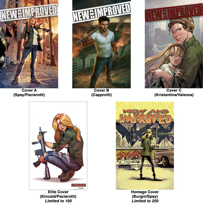 ALL FIVE COVERS