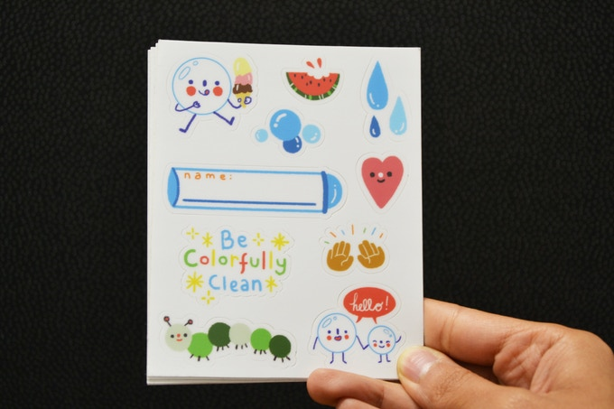 Custom SoaPen Sticker Sheet