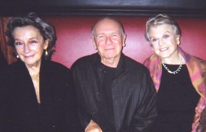 Zoe Caldwell, Terrence, and Angela Lansbury