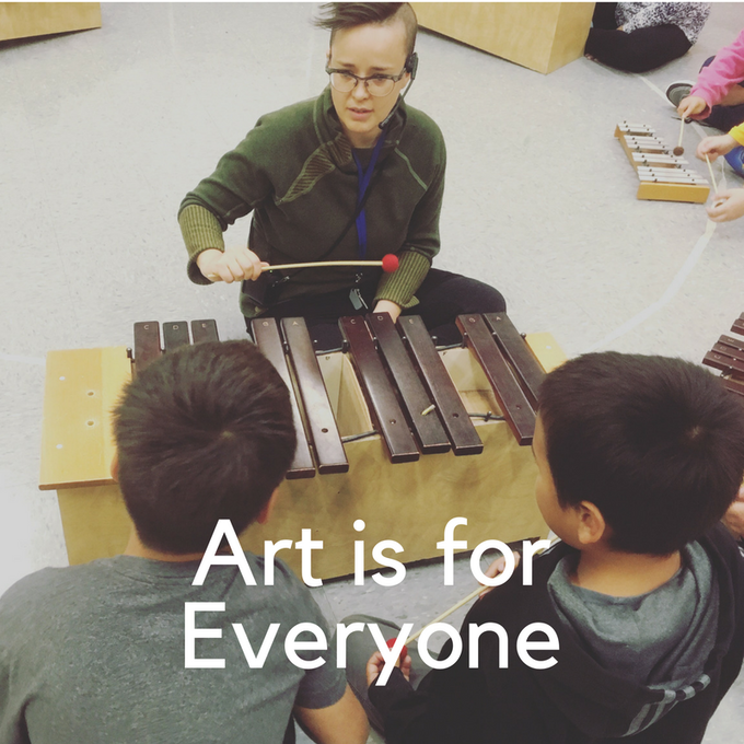 Art is for everyone <3