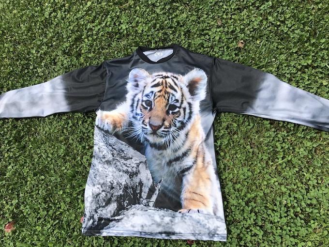 Tiger (front & back)