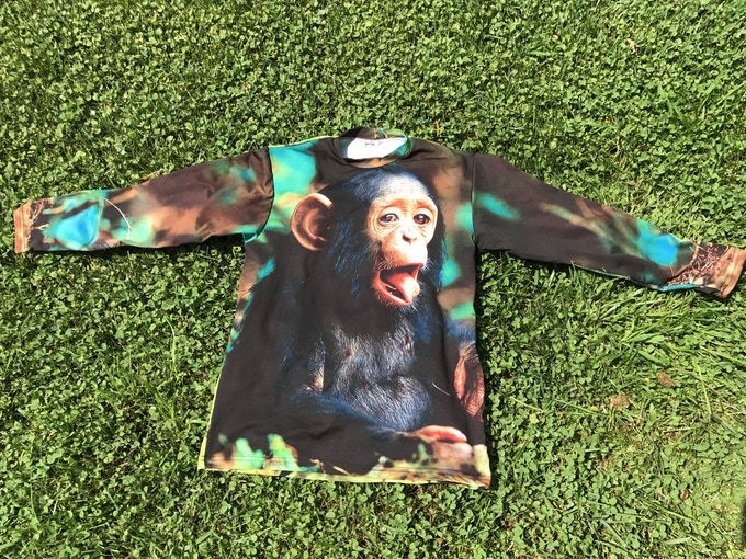 Bonobo Monkey (front & back)