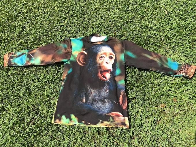 Bonobo Monkey (front & back)