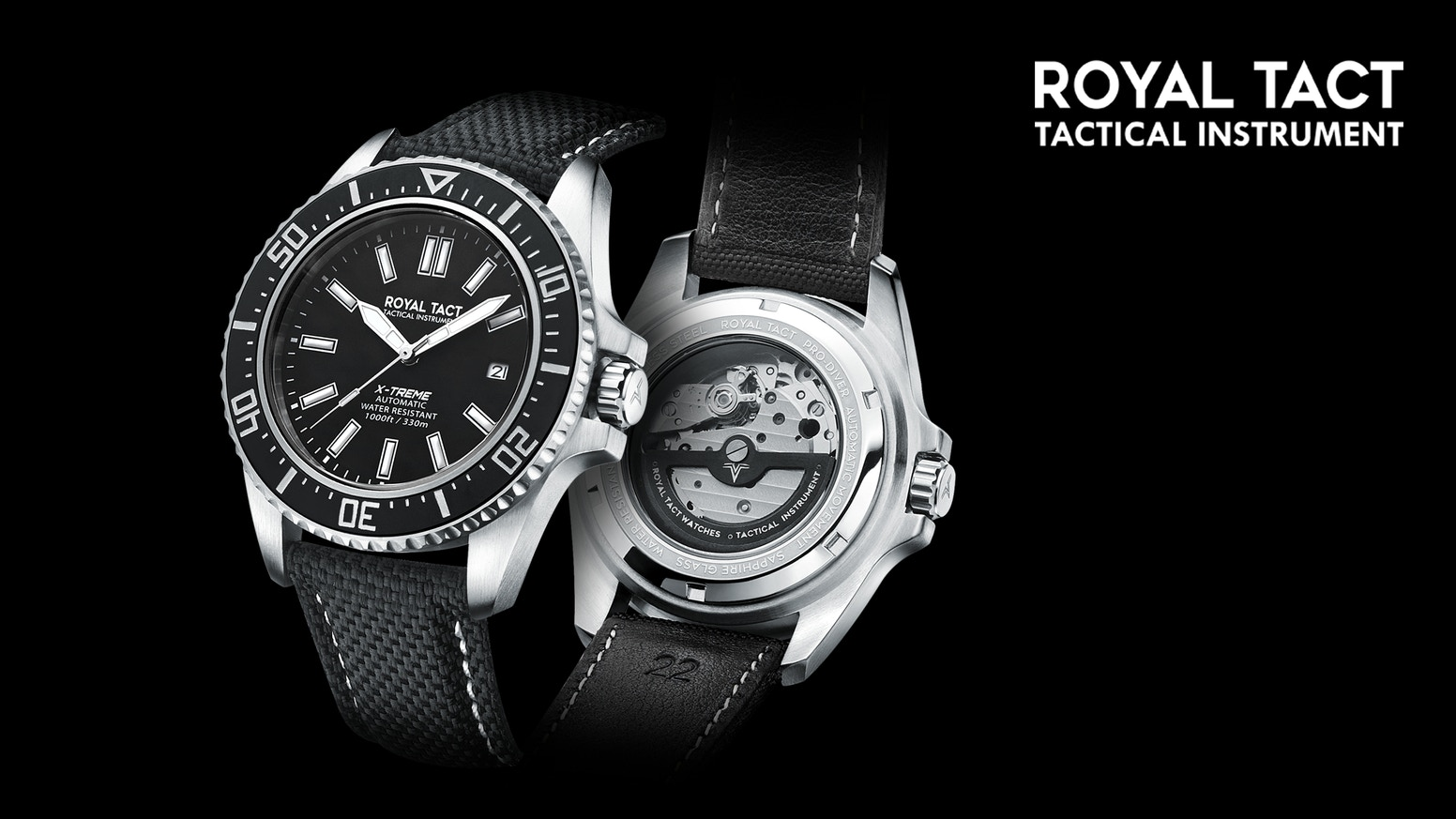 Royal Tact Watch : A 138USD Mechanical Diver Watch