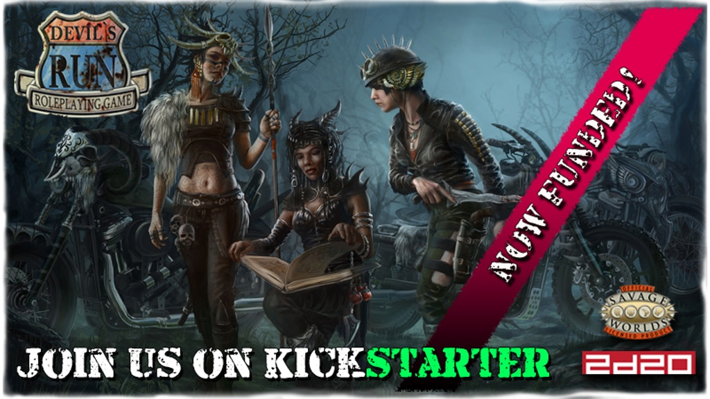 Devil's Run Roleplaying Game (2d20 & Savage Worlds) project video thumbnail