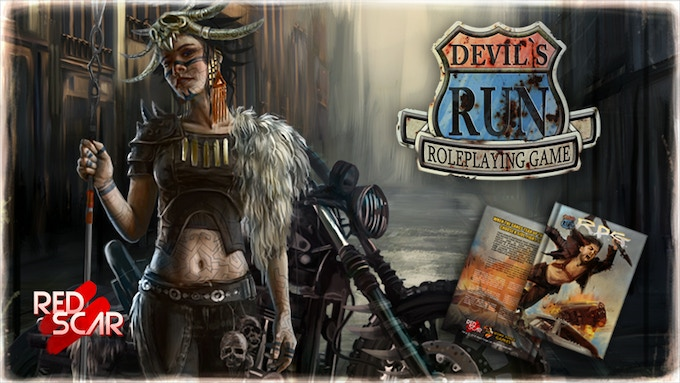 Devil's Run Roleplaying Game (2d20 & Savage Worlds) by Marc