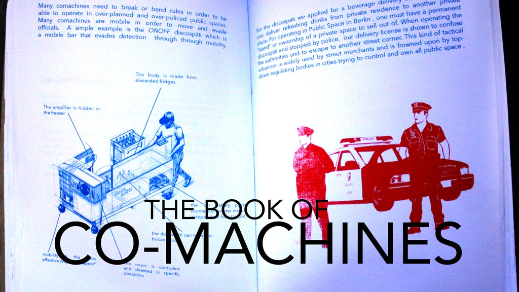 CO-MACHINES : A BOOK OF MOBILE DISRUPTIVE ARCHITECTURE project video thumbnail