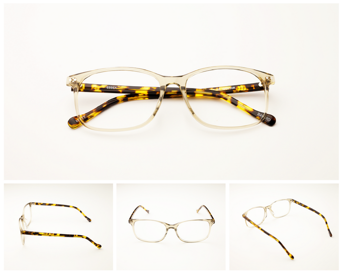Style A - CLEAR/TORTOISE