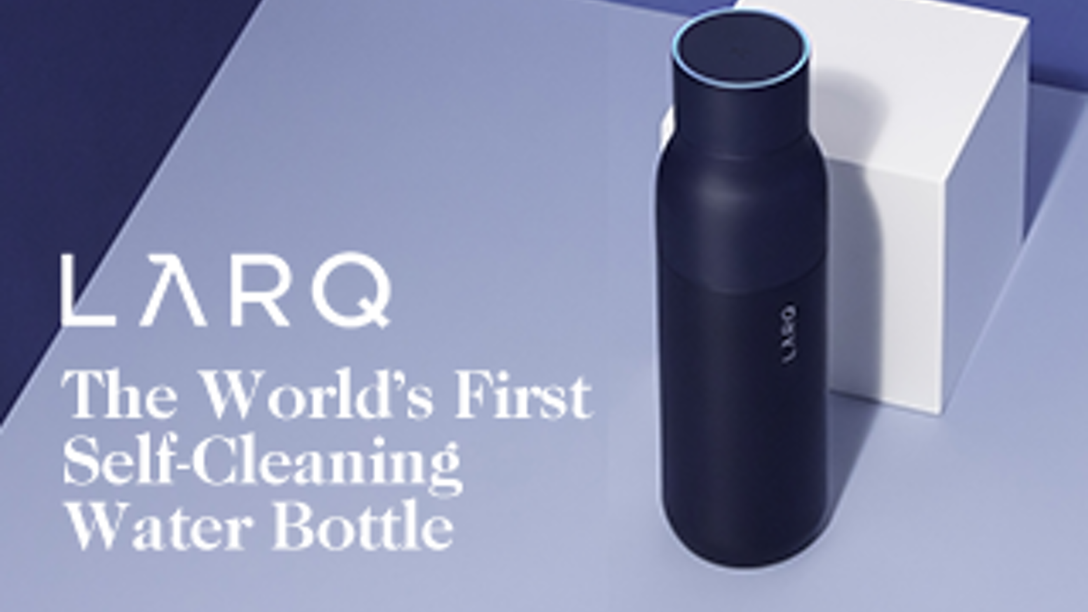 No more stinky water bottles.  LARQ harness UV-C LED light to eliminate 99.9999% of bio-contaminants from your water and bottle.