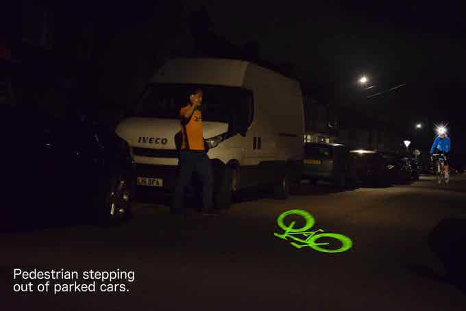 The front laser is excellent at warning pedestrians-2