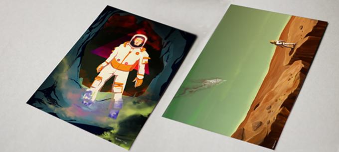 Postcards by Sergi Ballesteros