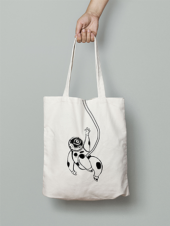 A totebag from outer space
