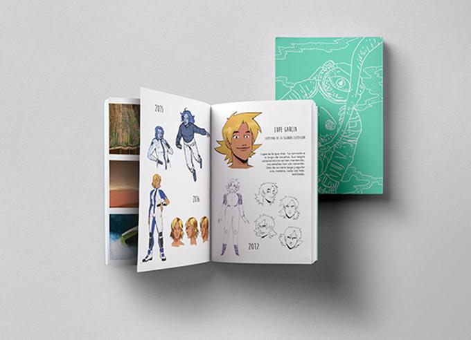 Get a digital or printed version of the Mars Oddity artbook