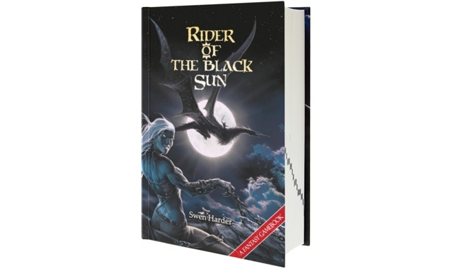 Rider of the Black Sun as hardcover.