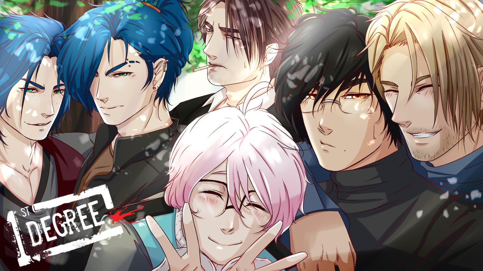 1st Degree: Murder-Mystery BL/Yaoi Visual Novel by Parival