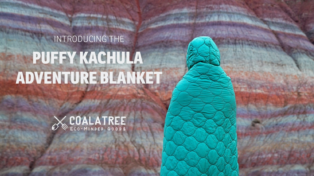 Puffy Kachula - A Cozy & Functional Blanket Ready for It All