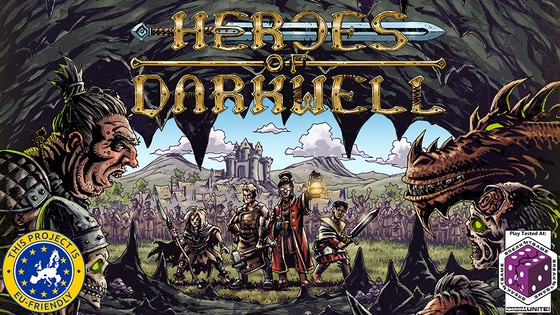 Heroes of Darkwell, an RPG-Inspired Deck Building Game