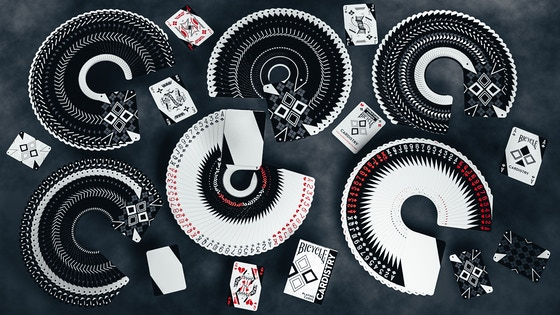 BICYCLE CARDISTRY B/W - THE NEXT LEVEL IN DESIGN