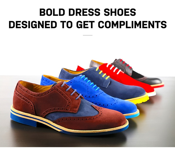 bf07e93ade85 Bold Dress Shoes Designed To Get Compliments by Soxy — Kickstarter
