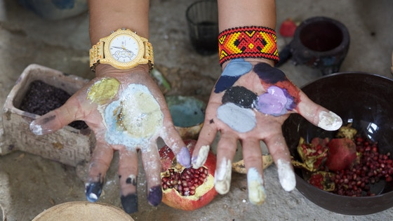 Tonas Wood -The First Hand-Painted Alebrije Watch in History