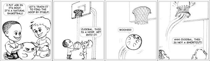 Intelligent Basketball: An Autonomous Hoop Finder