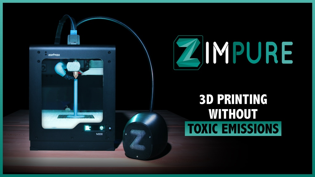 Zimpure 2, 3D Printing without toxic emissions project video thumbnail