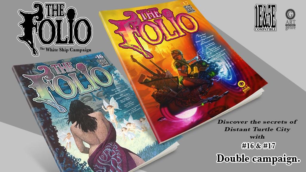 The Folio #16 & #17 Double 1E & 5E Adventure Set project video thumbnail