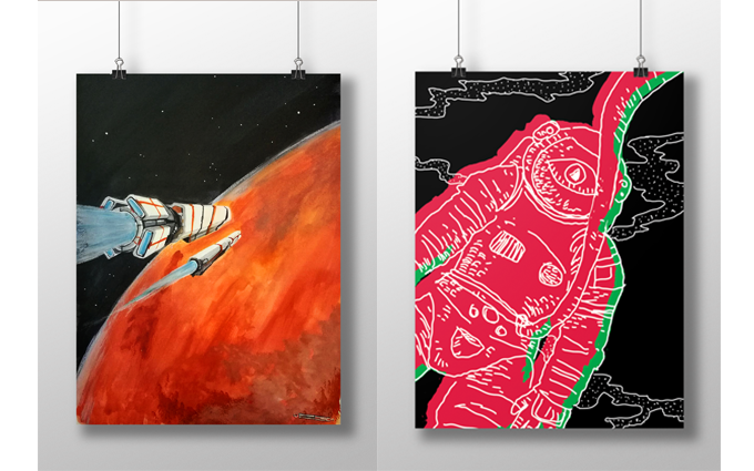 These could be your originals/serigraphies! By Sergi Ballesteros and Pilar Villanueva