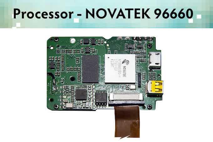 I'm Back™ PCB - Processor Novatek 96660