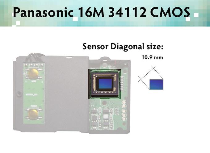 I'm Back™  - Panasonic 16M 34112 CMOS Sensor