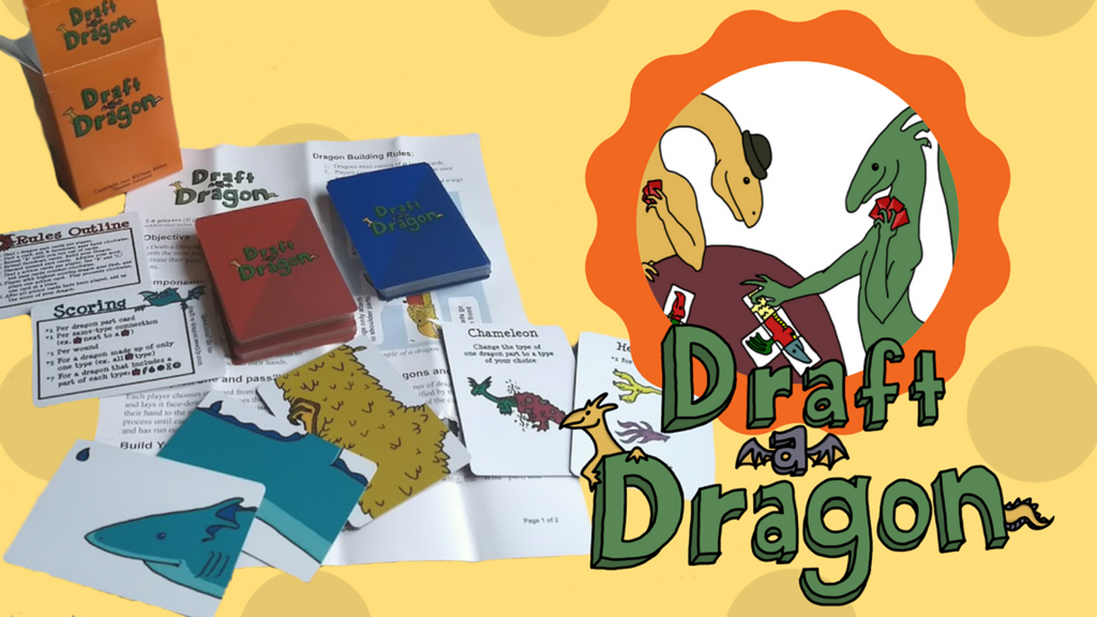 Draft-a-Dragon, the Dragon Crafting Card Game by William