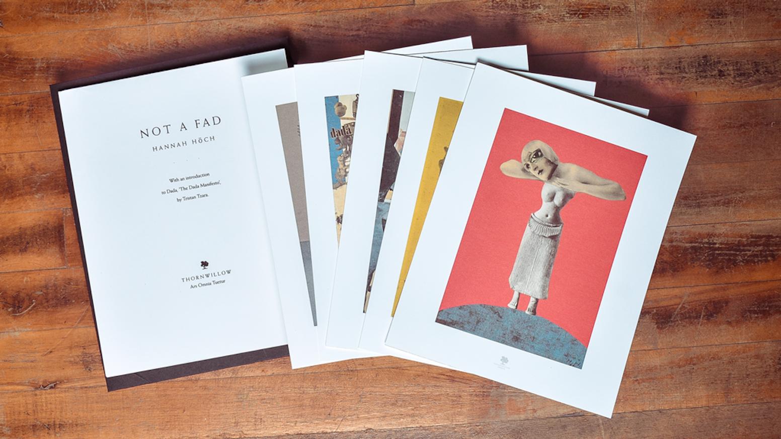 Hannah Hch A Print Portfolio By Thornwillow Kickstarter