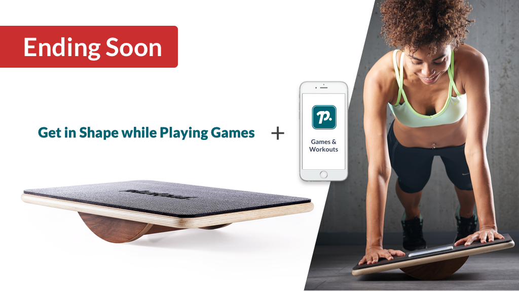 Plankpad: Strong Back, Core & 6-Pack Abs while Playing Games project video thumbnail