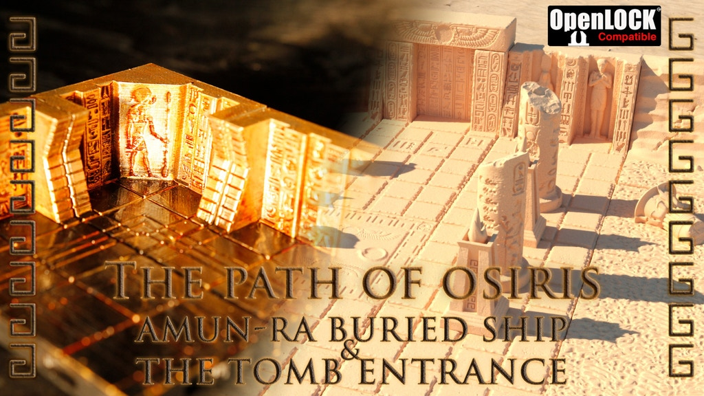The Path of Osiris Extended : Egyptian Dungeon Game Tiles project video thumbnail