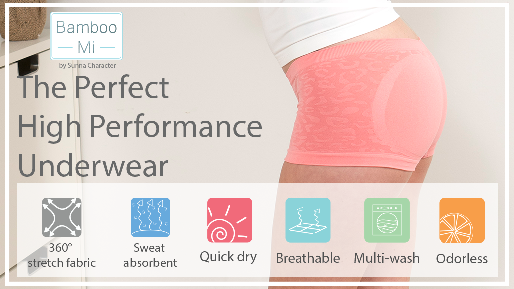 The High Performance Underwear Made by Bamboo Charcoal
