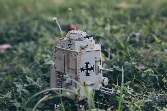 PzKpfl.I Schnauzer Armoured Walker Grenzjäger (Border Patrol, Green)