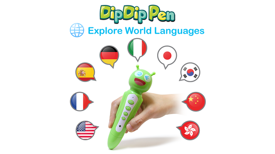 DipDip Pen – World's 1st Toy to Explore World Languages!