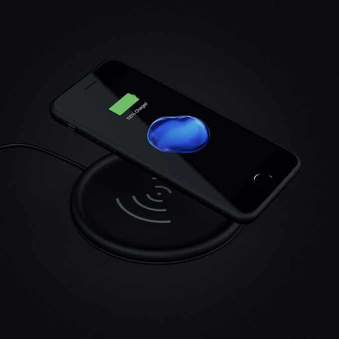 Marvelcase Air - Wireless charging capability on any Qi wireless charger including Apple's new AirPower Mat and Samsung wireless chargers.