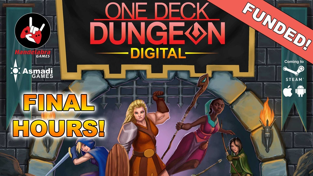 One Deck Dungeon - Digital Tabletop Game project video thumbnail