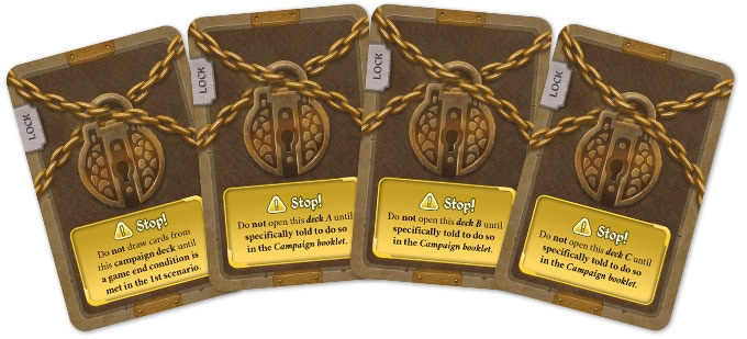You're not allowed to open sealed components until told to do so!