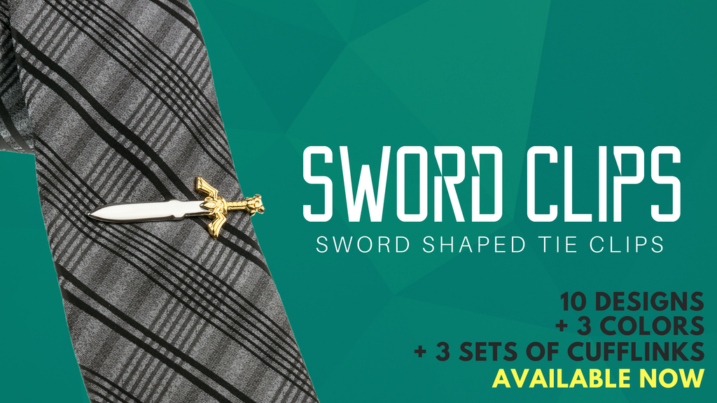 Sword Clips - Sword Shaped Tie Clips project video thumbnail