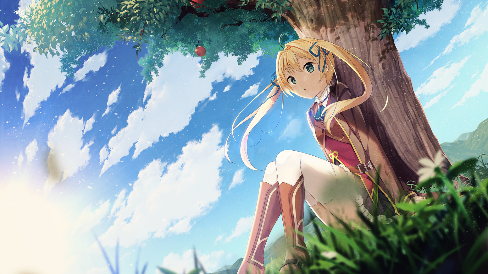 'Newton' was actually the pen name of a brilliant-minded girl!? Welcome to the time traveling visual novel, Newton and the Apple Tree.