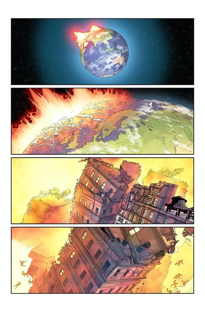 STAIRWAY an Original Sci-Fi Graphic Novel