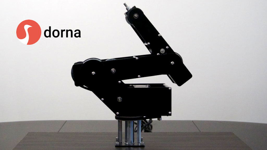 Dorna: fast, powerful and precise robotic arm project video thumbnail