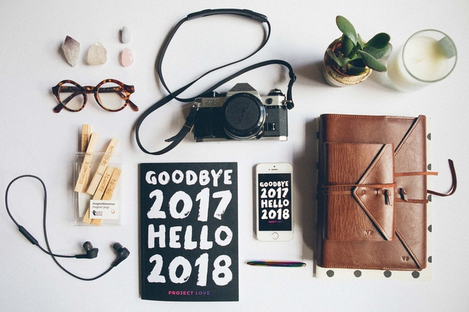 Image result for goodbye 2017 hello 2018