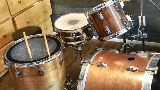 Percussion Equipment for Audition on America's Got Talent
