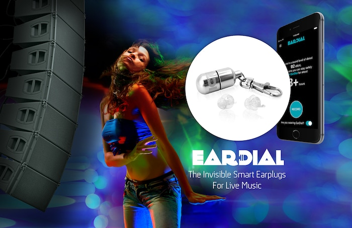 Live music goers: save your hearing while enjoying your music at full fidelity with the world's first invisible smart earplugs